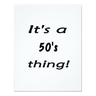¡Es una cosa de los años 50! Años 50 cincuenta Invitaciones Personales