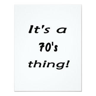 ¡Es una cosa de los años 70! años 70 setenta Anuncios