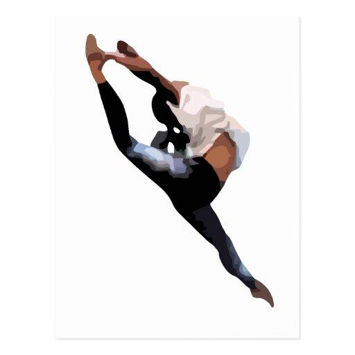 Es una cosa del bailarín tarjeta postal