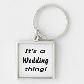 ¡Es una cosa del boda! Llaveros Personalizados