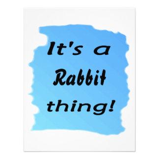 ¡Es una cosa del conejo Comunicados