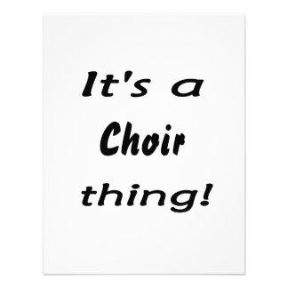 ¡Es una cosa del coro Invitaciones Personales