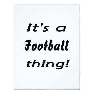 ¡Es una cosa del fútbol! Anuncio Personalizado