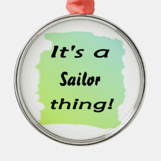 ¡Es una cosa del marinero! Ornamentos Para Reyes Magos