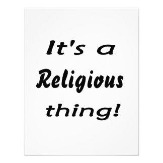 ¡Es una cosa religiosa Invitaciones Personales