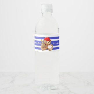 Es una etiqueta de la botella de agua de la fiesta
