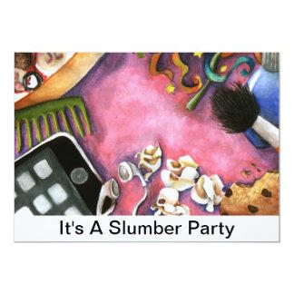 Es una fiesta de pijamas invitación 12,7 x 17,8 cm