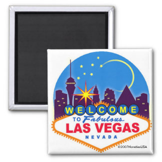 ¡Es Vegas, bebé! Imán De Nevera