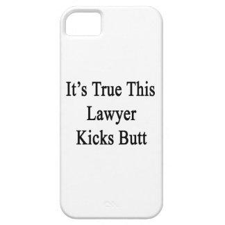 Es verdad este extremo de los retrocesos del aboga iPhone 5 protector