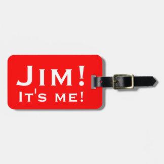 ¡Es yo! Etiquetas personalizadas del equipaje