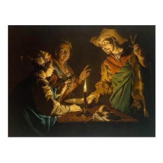 Esau y Jacob de Matías Stom Postal