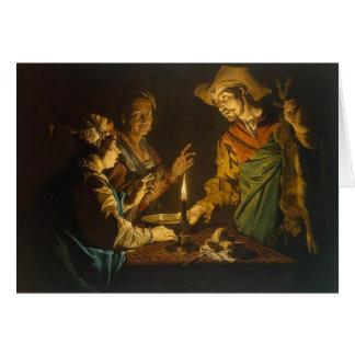Esau y Jacob de Matías Stom Tarjeta De Felicitación