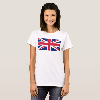 Escala BRITÁNICA del 1:2 de la bandera de Union Camiseta