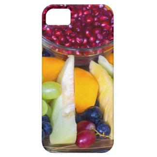 Escala de cristal por completo de diversas frutas funda para iPhone SE/5/5s