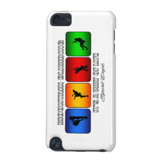 Escalada fresca es una manera de vida funda para iPod touch 5