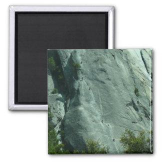 Escaladores de roca en el EL Capitan Imán Cuadrado
