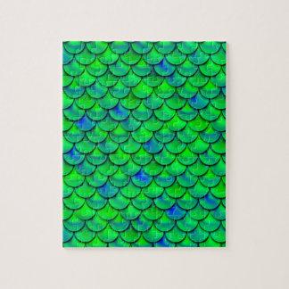 Escalas azulverdes de Falln Puzzle