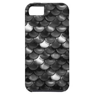 Escalas blancos y negros de Falln Funda Para iPhone SE/5/5s