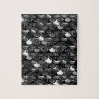 Escalas blancos y negros de Falln Puzzle