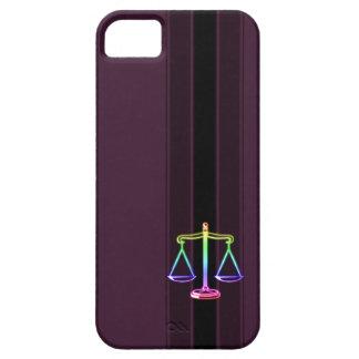 Escalas coloridas de la ley de la justicia el | funda para iPhone SE/5/5s