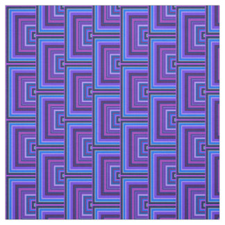 Escalas cuadradas azules y púrpuras telas