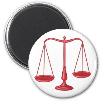 Escalas de la justicia imán