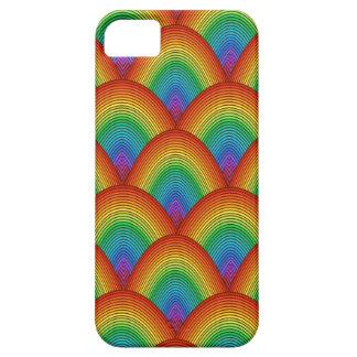 escalas del arco iris funda para iPhone SE/5/5s