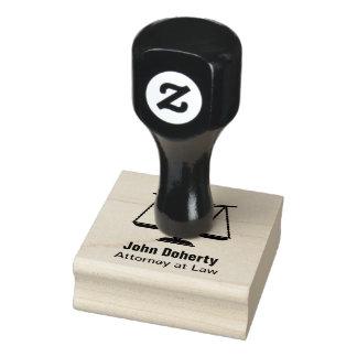 Escalas del símbolo el | Personalizable de la Sello De Caucho