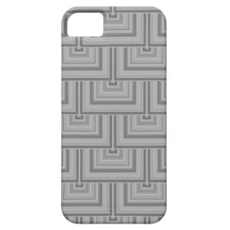 Escalas grises del cuadrado funda para iPhone SE/5/5s
