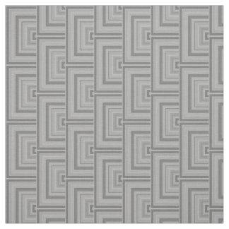 Escalas grises del cuadrado telas