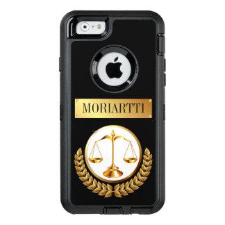 Escalas legales de la justicia funda otterbox para iPhone 6/6s
