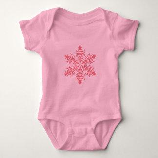 Escama rosada 6 body para bebé