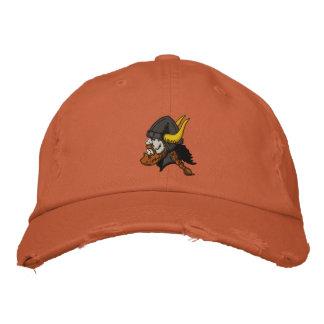 Escandinavo Viking en casco Gorra De Béisbol Bordada