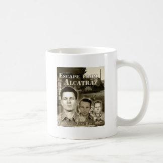Escape 1962 de Alcatraz - de Morris y de Anglins Taza De Café