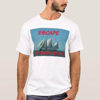 Escape el estado de la niñera camiseta
