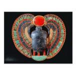 Escarabajo pectoral, de la tumba de Tutankhamun Postal