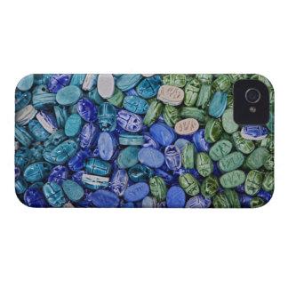 Escarabajos del escarabajo del alabastro, EL Khali Case-Mate iPhone 4 Protectores