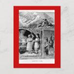 Escena bíblica del navidad del Victorian del