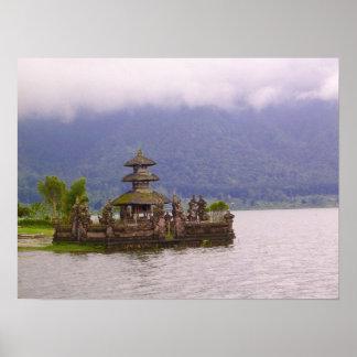 Escena de Bali Póster