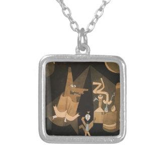 Escena de la bruja de Paul Klee- Grimpola