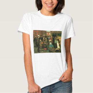 Escena de la calle, calle de Hester, Nueva York C. Camisetas
