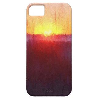 Escena de la playa de la Florida Funda Para iPhone SE/5/5s