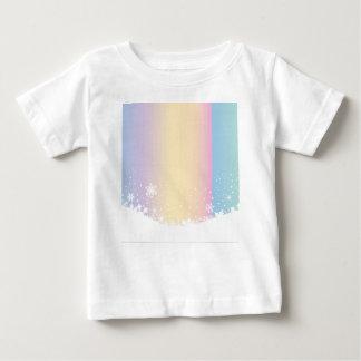 Escena del copo de nieve camiseta de bebé