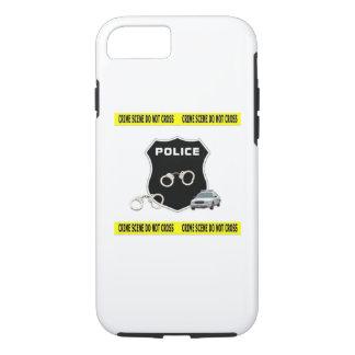 Escena del crimen de la policía funda iPhone 7
