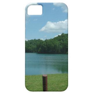 Escena del lago day de verano funda para iPhone SE/5/5s