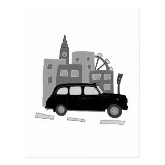 Escena del taxi postal