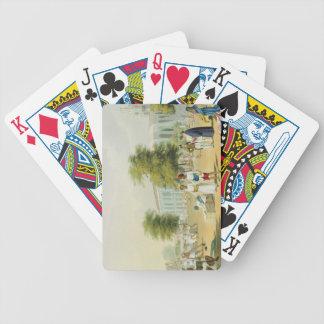 Escena en Bombay, del volumen I de 'paisaje, traje Baraja Cartas De Poker
