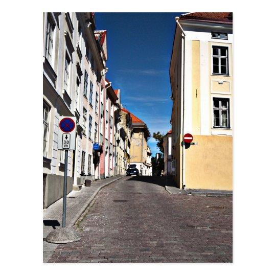 Escena Estonia de la calle Postal
