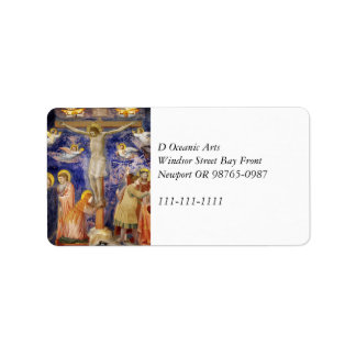 Escena medieval del Viernes Santo Etiqueta De Dirección