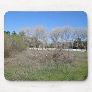 Escena rural en Los Alamos, California Alfombrilla De Ratón